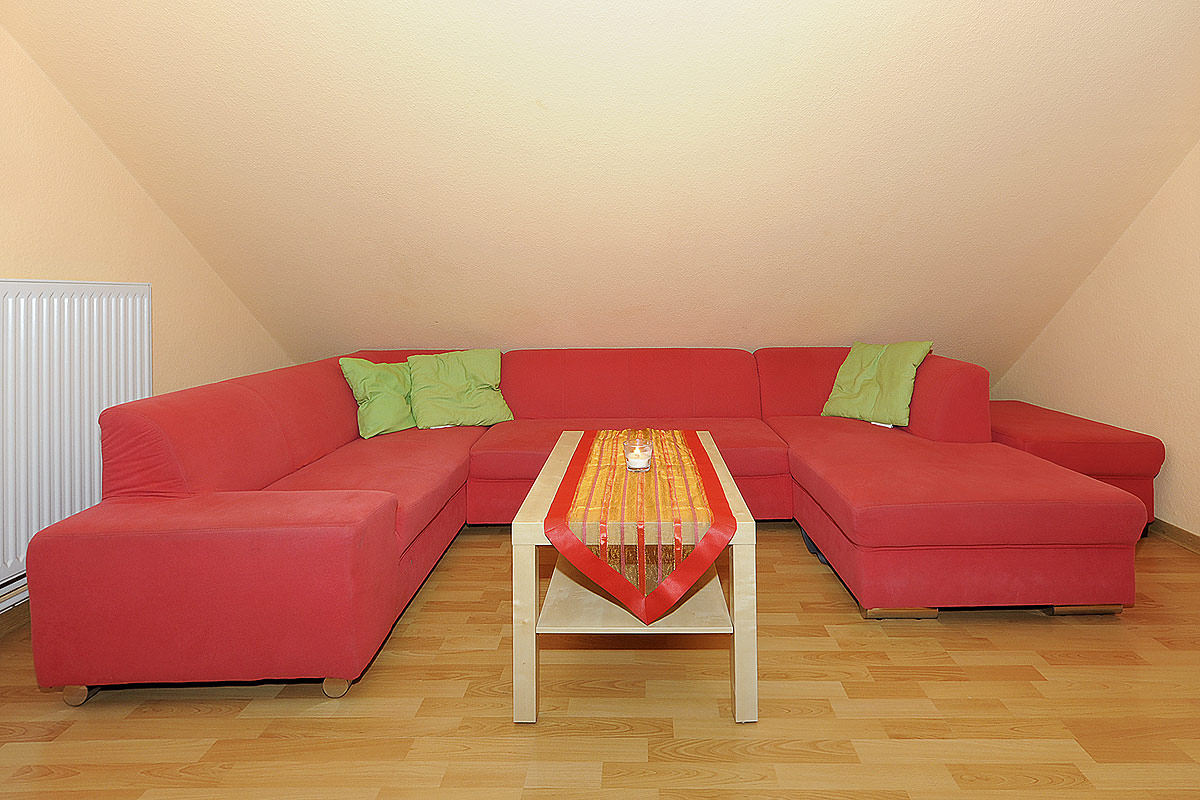 Couchgarnitur rot